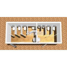 Туалетный модуль ТМ-10